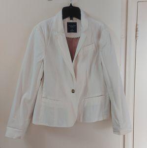 2/ $50 White blazer